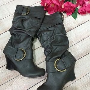 Unionbay  wedge boot